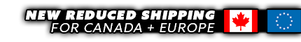 NEW REDUCED SHIPPING RATES FOR CANADA and EUROPE