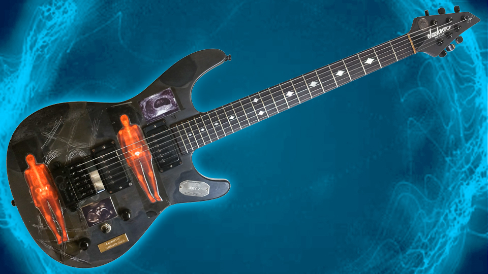 There's cool, then there's cool like this custom Jackson with EverTune for Life of Agony guitarist Joey Z. Hot!