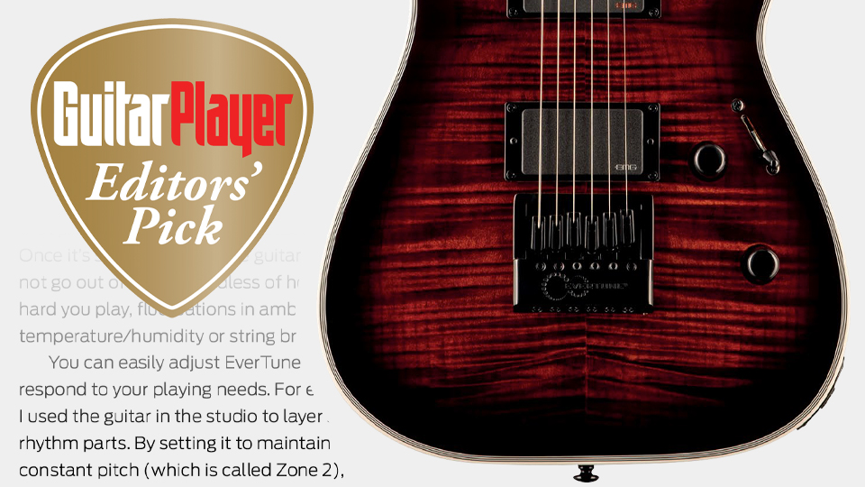 Guitar Player Magazine review by Art Thompson