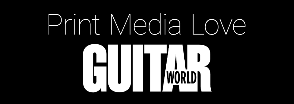 Guitar World Magazine review by Paul Riario