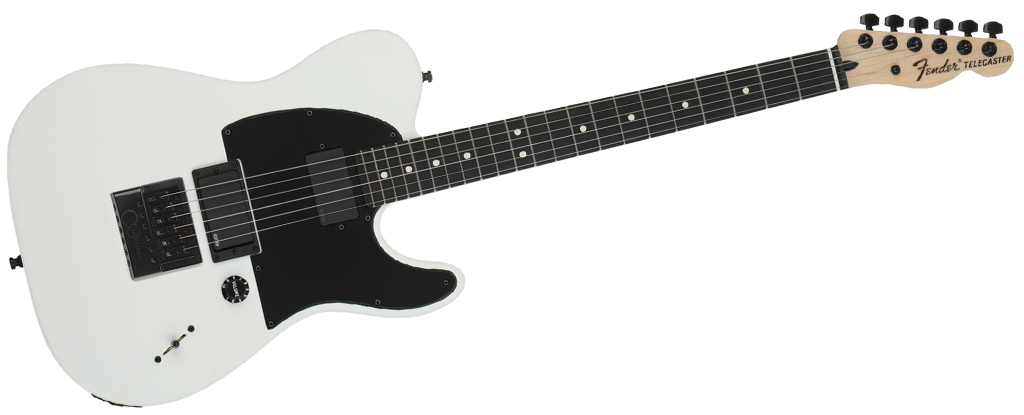 F Model installed in-house on a Fender Jim Root Telecaster