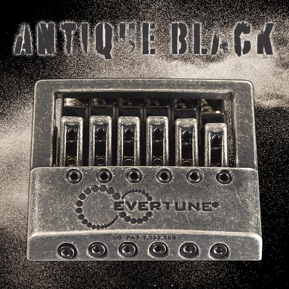 EverTune F6 Bridge • Antique Black
