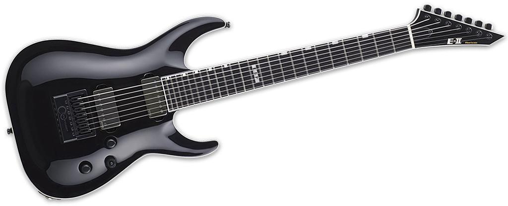 ESP E-II Horizon NT-7 EverTune • Black • Made In Japan