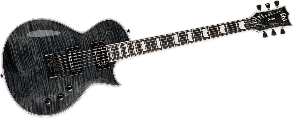 ESP LTD  EC-1000 EverTune • See Thru Black