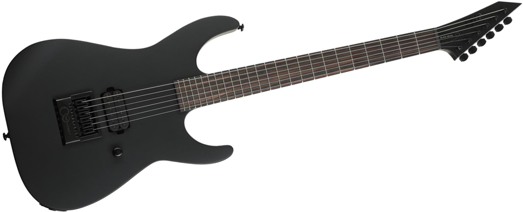 ESP LTD M-HT Black Metal • Black Satin • EverTune AfterMarket Upgrade