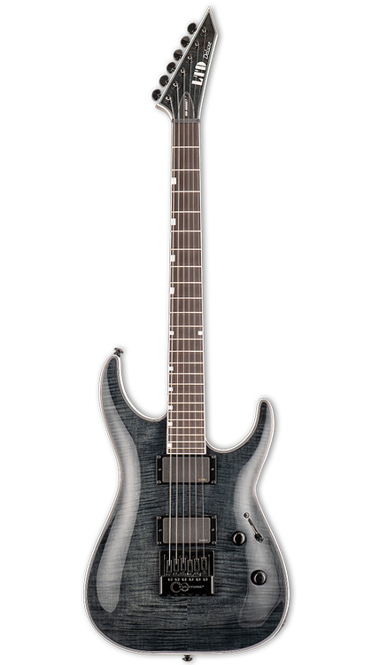 ESP LTD MH-1000 EverTune • See Thru Black