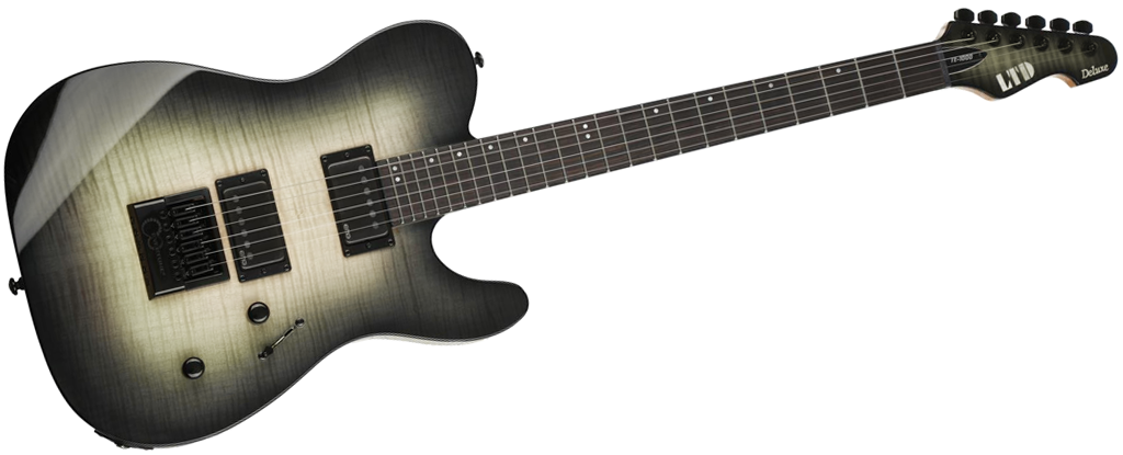ESP LTD • TE-1000 Black Natural Burst