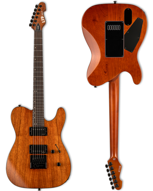 Brand new for 2021!  ESP LTD • TE-1000 EverTune Koa Natural Gloss