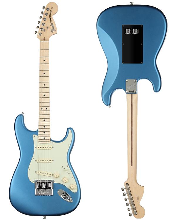 Fender American Performer Stratocaster • Satin Lake Placid Blue • EverTune Aftermarket Upgrade