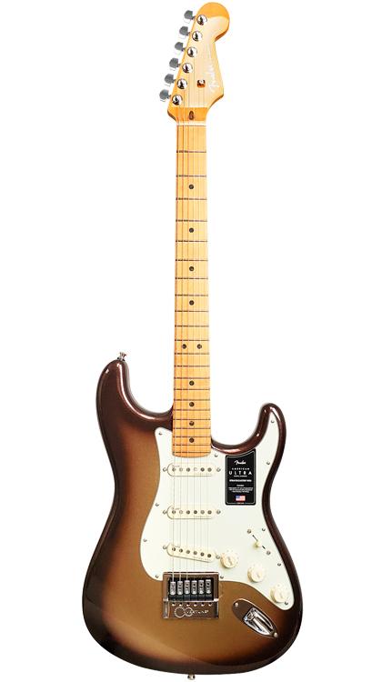 Fender American Ultra Stratocaster  Mocha Burst EverTune AfterMarket Upgrade