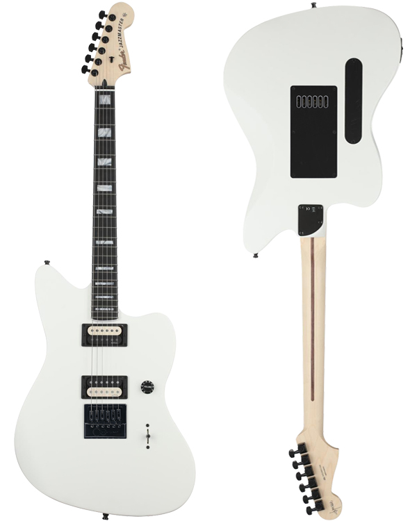 Fender Jim Root Jazzmaster • Polar White • EverTune Aftermarket Upgrade