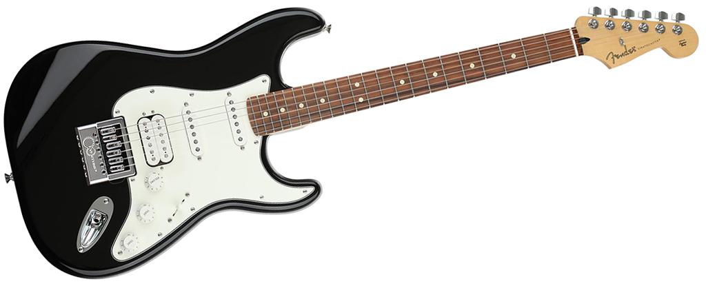 Fender Player Series Stratocaster • Black  (HSS) • EverTune AfterMarket Upgrade
