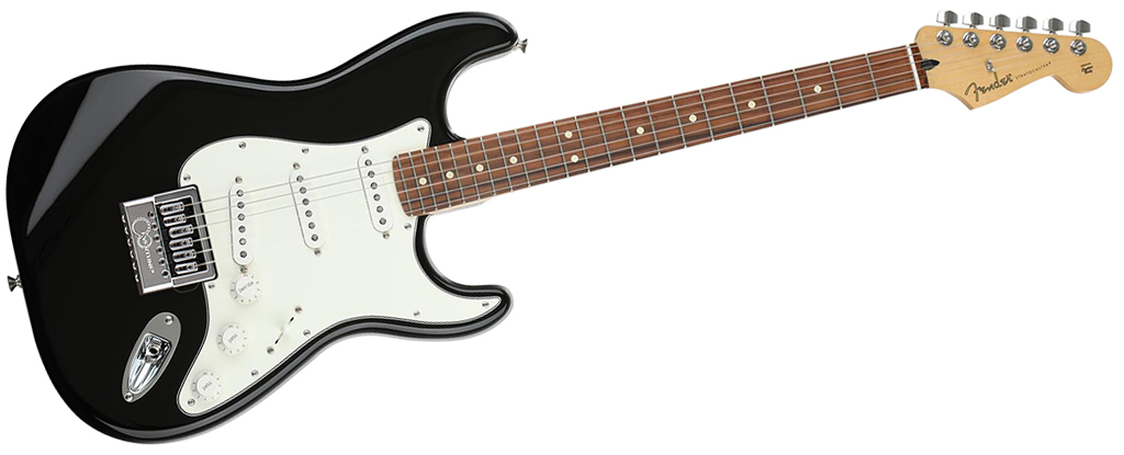 Fender Player Series Stratocaster • Black (SSS) • EverTune AfterMarket Upgrade