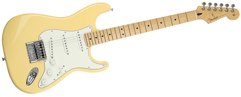 Fender Player Series Stratocaster • Buttercream (SSS) • EverTune AfterMarket Upgrade