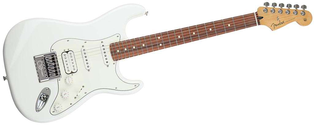 Fender Player Series Stratocaster • Polar White (HSS) • EverTune AfterMarket Upgrade