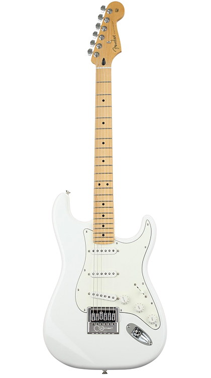 Fender Player Series Stratocaster • Polar White (SSS) • EverTune AfterMarket Upgrade