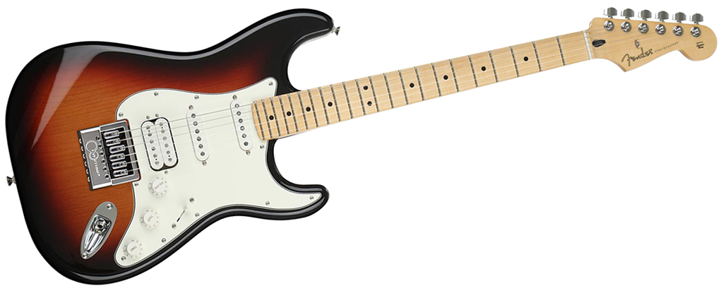 Fender Player Series Stratocaster • 3-Tone Sunburst (HSS) • EverTune AfterMarket Upgrade