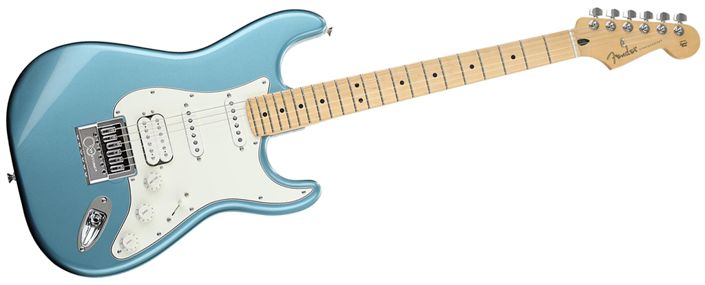 Fender Player Series Stratocaster • Tidepool (HSS) • EverTune AfterMarket Upgrade