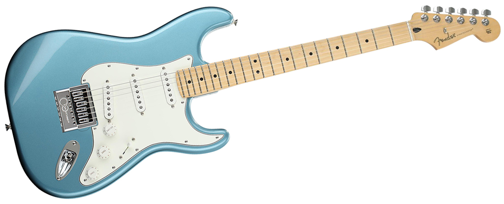 Fender Player Series Stratocaster • Tidepool (SSS) • EverTune AfterMarket Upgrade