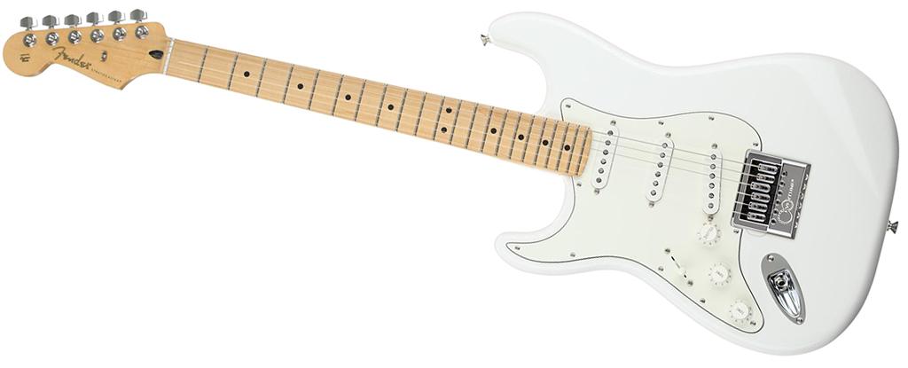 Fender Left-Handed Player Series Stratocaster • Polar White (SSS) • EverTune AfterMarket Upgrade