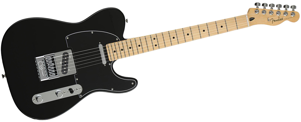 Fender Player Series Telecaster • Black (SS) • EverTune AfterMarket Upgrade