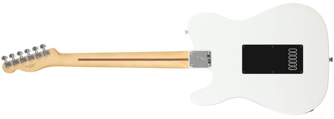 Fender Player Series Telecaster • Polar White (SS) • EverTune AfterMarket Upgrade