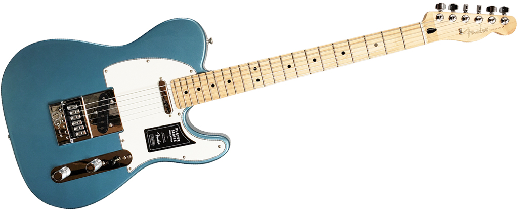 Fender Player Series Telecaster • Tidepool (SS) • EverTune AfterMarket Upgrade