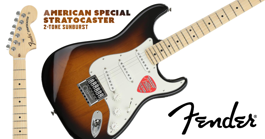 Fender Stratocaster American Special Evertune Shop