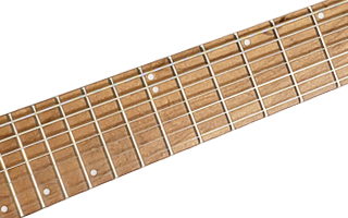 Caramelized Maple Fingerboard