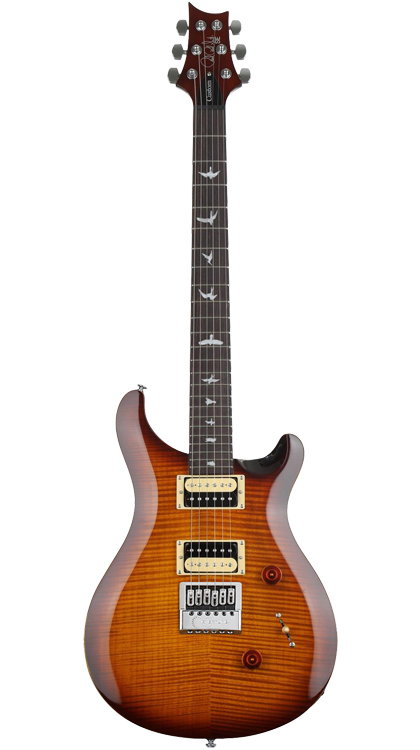 PRS SE Custom 24 Tobacco Sunburst EverTune AfterMarket Upgrade