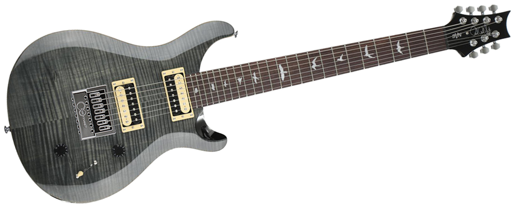 PRS SE SVN Gray Black EverTune AfterMarket Upgrade
