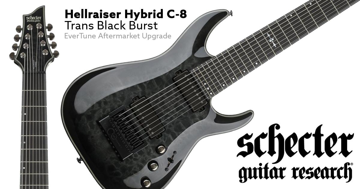 Schecter XXX diamond series electric guitar