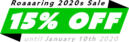 Save 15% until January 10th 2020.