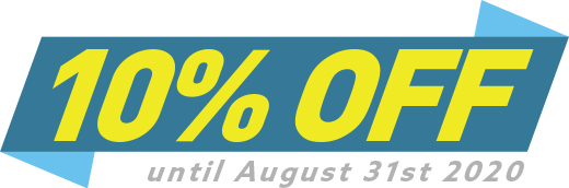 Save 10 Percent Until August 31st