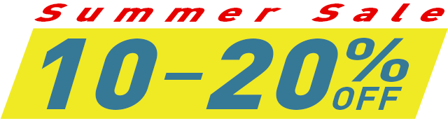 Summer Sale 2020.  Give yourself a little gift and make the world a more in-tune place at the same time.